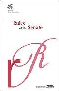Rules of the Senate